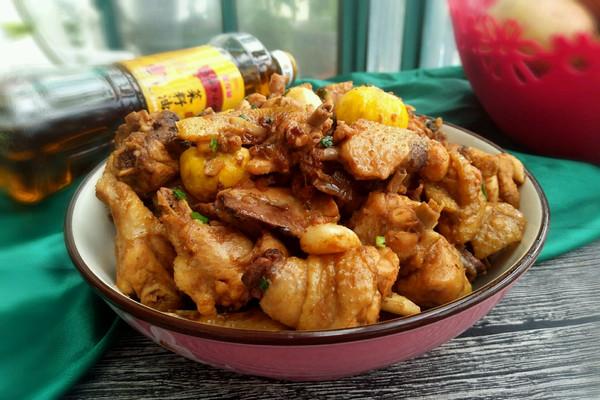 板栗烧仔鸡#金龙鱼外婆乡小榨菜籽油 最强家乡菜#的做法