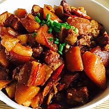 红烧肉_五花肉炖土豆