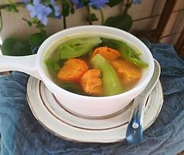 #精品菜谱挑战赛#番薯芥菜汤的做法