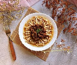 #肉食者联盟#牛肉蒸海鲜菇的做法
