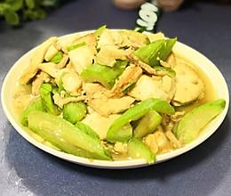 豆腐炒丝瓜的做法