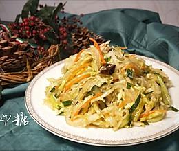 #新年开运菜,好事自然来# 爽口大拌菜(四季发财)的做法