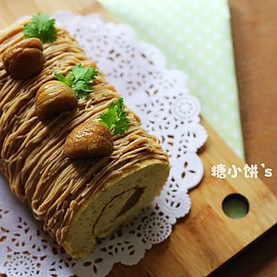 三重【栗蓉蛋糕卷】