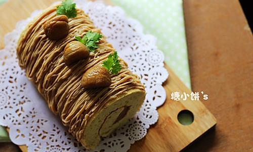 三重【栗蓉蛋糕卷】的做法