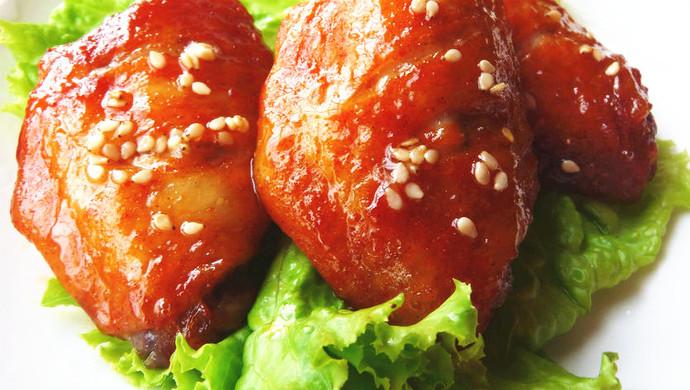 【家庭自制奥尔良烤翅】叫板肯德基经典美食
