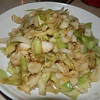 蚝油圆白菜的做法图解5