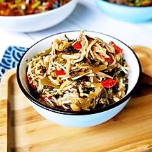 酸菜金针菇