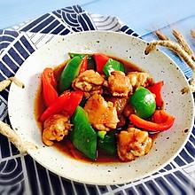 #肉食者联盟#双椒炒鸡翅