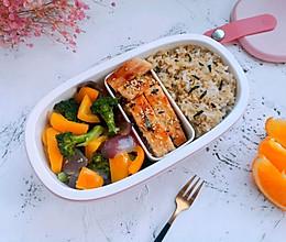 #秋天怎么吃#藜麦低脂便当的做法