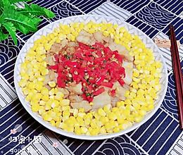 #晒出你的团圆大餐# 玉米鳕鱼粉丝煲的做法