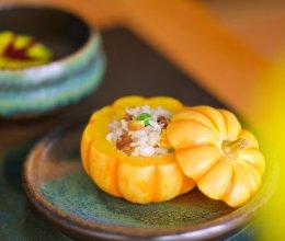 节气食单  |  霜降  南瓜栗子香菇饭的做法