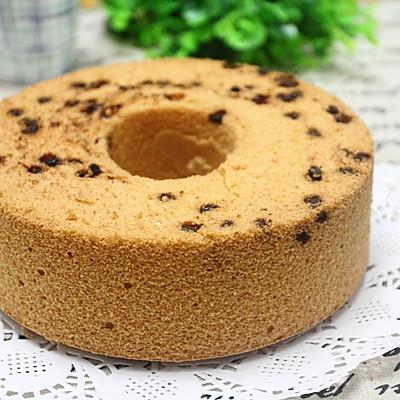 豆渣和巧克力豆完美结合的戚风蛋糕