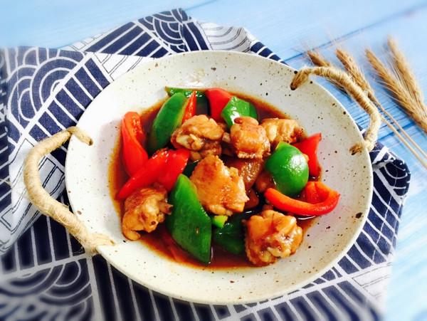双椒炒鸡翅的做法