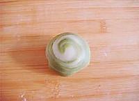抹茶绿豆酥的做法图解16