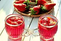 给自己一份美味养生礼物——秘酿养颜美容草莓酒的做法