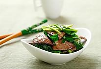 韭菜炒猪肝,韭菜和它一起炒,鲜嫩可口又大补的做法