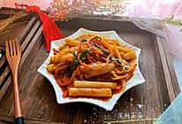 #钟于经典传统味#辣炒年糕的做法