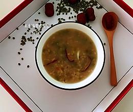 绿豆百合粥,伴你安然入睡的做法