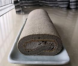 黑芝麻蛋糕卷的做法