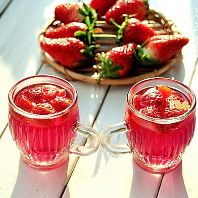 给自己一份美味养生礼物——秘酿养颜美容草莓酒