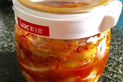 韩式辣白菜(重庆辣椒粉版)