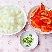 清爽开胃--番茄冬瓜汤的做法图解3