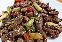 #巨下饭的家常菜#葱爆羊肉的做法