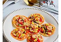 饺子皮版披萨的做法