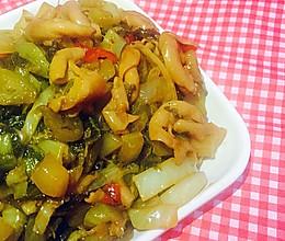重口味-酸菜炒猪大肠的做法