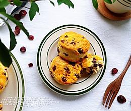 """#""""莓""""好春光日志#蔓越莓巧克力司康的做法"""