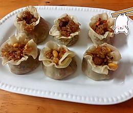 家庭版好吃的香菇肉丁烧麦的做法