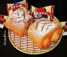 """#""""莓""""好春光日志# 这面包有韧劲越嚼越香,低脂低卡又饱腹的做法"""