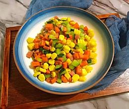 彩色什锦儿童菜的做法