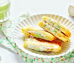 香蕉牛油果酸奶吐司的做法
