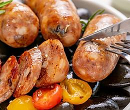 火山石纯肉烤肠   爆汁爽脆的做法