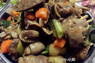 马蹄胡萝卜炖羊排#肉肉厨