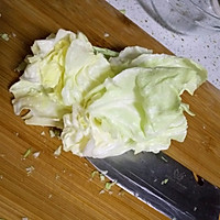 圆白菜香菇素饺子,减肥,健身者的美食的做法图解2