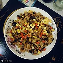 炒糯米饭&烧麦