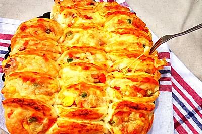 蜂巢免切披萨