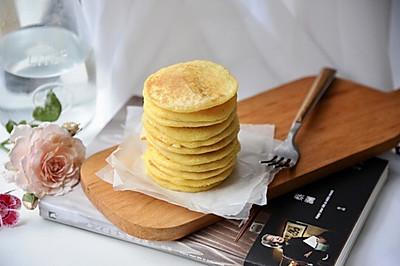 玉米面早餐饼