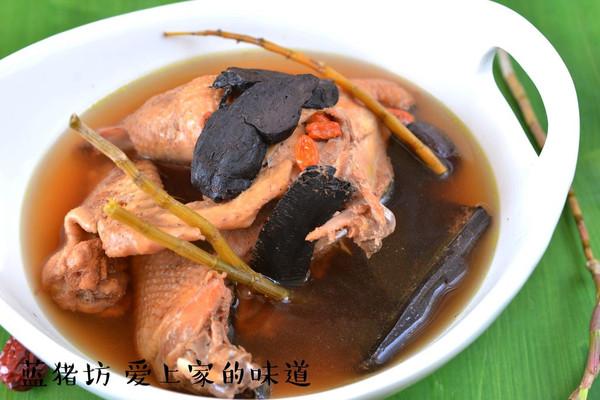 石斛鸡汤的做法