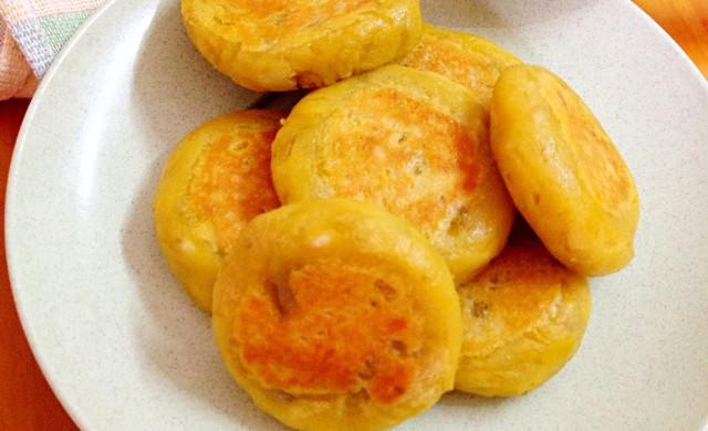 香煎红薯饼
