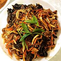 茶香茭白鱼香肉丝的做法图解7