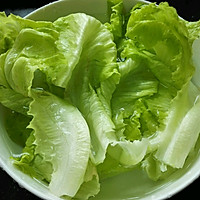 #520,美食撩动TA的心!#肉末生菜的做法图解1