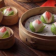 【寿桃包】中国人最传统的生日蛋糕,好惊艳!