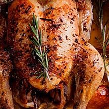 多汁迷迭香烤鸡Rosemary chicken