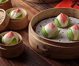 【寿桃包】中国人最传统的生日蛋糕,好惊艳!的做法
