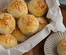 芝士流心蛋黄酥的做法