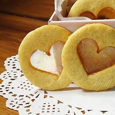 玻璃心黄油饼干