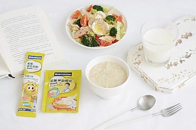 雀巢学生早餐:燕麦杂粮粥